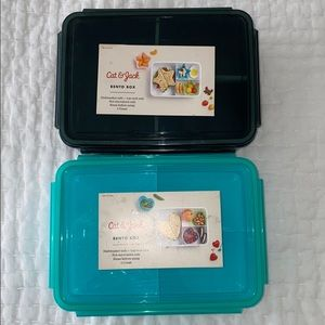 Pack of 2 bento boxes